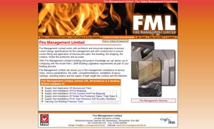 Fire Management Limited website image