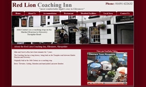 Red Lion Coaching Inn website image