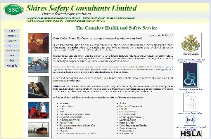 Shires Safety website image
