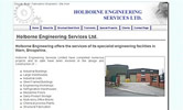 Holborne Engineering Website