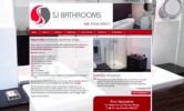 SJ Bathrooms and Kitchens Website