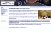 Shropshire Wheelchair Users Group Website